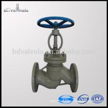 Standard ASTM A216 WCB cast steel globe valve PN16