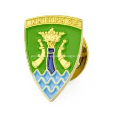Emblemas duros macios feitos sob encomenda do Pin de metal do esmalte