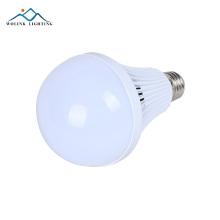 Weißes Aluminium E27 B22-Fadennotfall wieder aufladbares 3w 5w 7w 9w 12w Birnen-LED-Licht