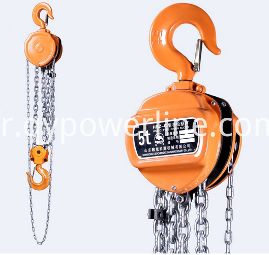 Manual Chain Tightening Lever Hoist
