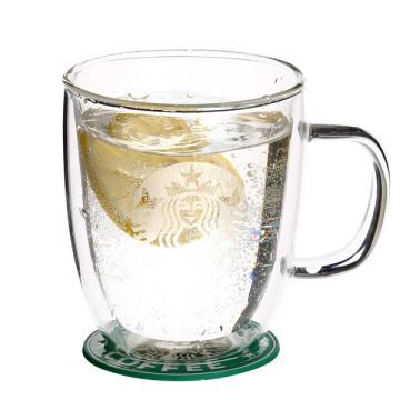 Borosilicate Clear Heat Resistance Coffee Mug