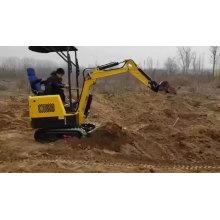 Equipo de construcción Mini retroexcavadoras de cangilones excavadoras pequeñas para la venta