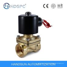 2W serie AC230V 2 vías acción directa latón Mini agua Gas válvula de solenoide