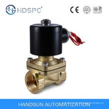 2W série AC230V 2 vias acção directa latão Mini água gás válvula de solenoide