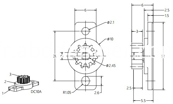 Damper For Electrical Products