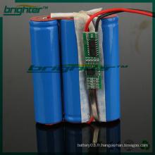 Outils de forage alimentés par une batterie lithium-ion 3.7v