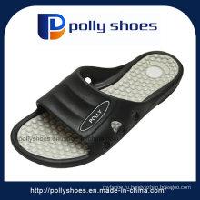Женские слайд сандалии черно белый Новый