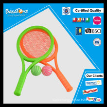 Hot sport toy set for kid plastic tennis racket
