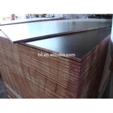 China dos veces la película caliente press18mm hizo frente a la madera contrachapada