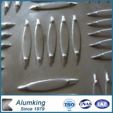 Orange Peel Aluminium / Aluminium Sheet / Plate / Panel 1050/1060/1100 pour étage antidérapant
