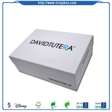 Custom White Paper Cardboard Shoes Box Packaging