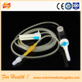 disposable luer lock butterfly infusion set