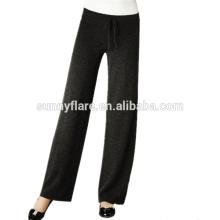 Pantalones de cachemir de mujer de alta calidad