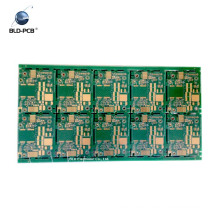black color solder mask 2 layer pcba manufacturing