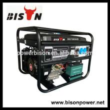 BISON (Китай) Бесшумный генератор бензиновых двигателей 4 кВт