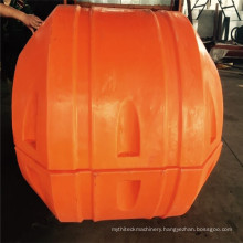 Large Diameter DN500 Plastic HDPE/MDPE Floaters For Dredge Pipeline