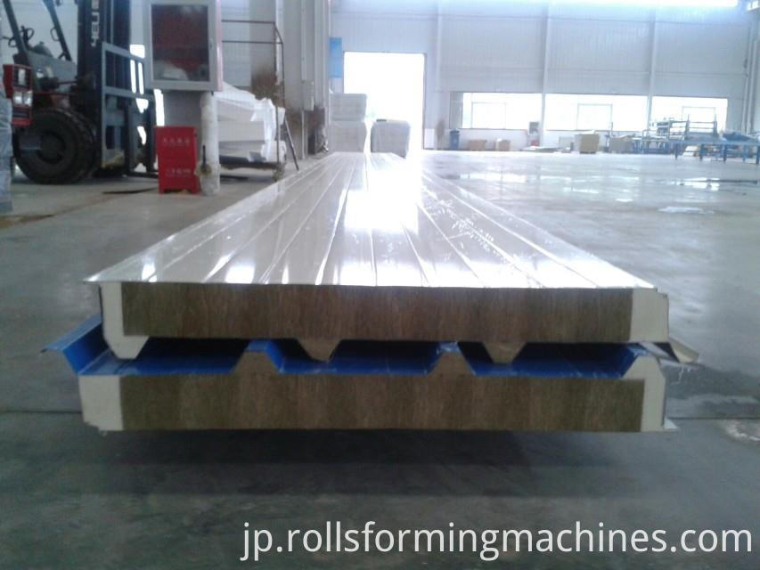 rock wool sandwich panel machine