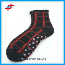 Men winter home socks of stripe pattern,high quality and thick socks for wholesale