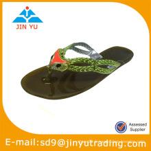2014 pvc sandales pour femmes chaussures