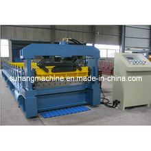 Glazed Roof Corrguated Panel Building Rolling Forming Machinery