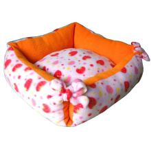 Soft Comfortable Printed Paws Pet Bed