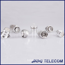 LOW PIM Mini DIN 4.3-10 RF Coaxial Connector for LTE & Mobile Use