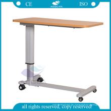Holzbrett AG-OBT015 Verstellbarer Krankenzimmer-Betttisch