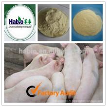 Additif d'alimentation enzymatique composé pour cochon de croissance