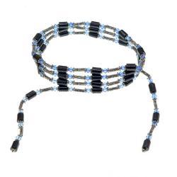 Magnetic Hematite Wrap Bracelet Necklace