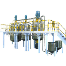 Configuración del equipo para la línea de producción de pintura látex