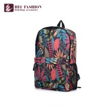 HEC Custom Fashion Adolescent Canvas Sac à dos en cuir