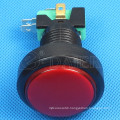 24mm NO NC Plastic Micro Arcade Push Button LED Switch