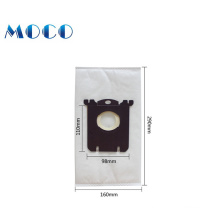 China wholesaler for zelmer non-woven  fabric cloth vacuum cleaner bag