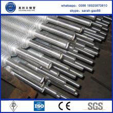Enveloppez le tube à ailettes en acier inoxydable L-Base