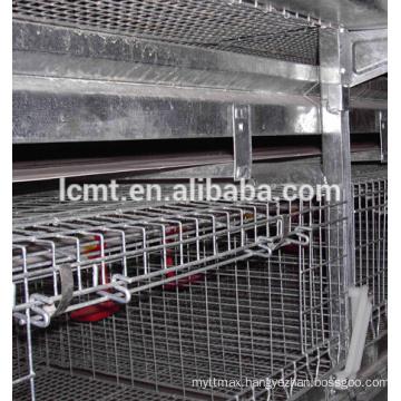 industrail galvanized 4 teirs 160 birds chicken cage