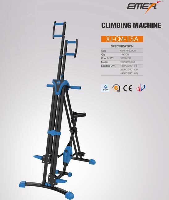 Vertical Climber Exercise Climbing Machine