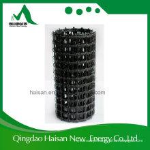Material de construção de estradas anticorrosivo 50kn / 50kn PP Geogrid biaxial