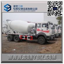 North Benz 10 Wheeler 5 Cbm Cement Mixer Truck