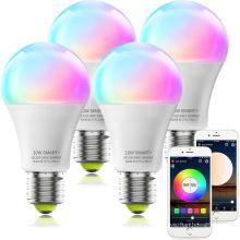 Bombilla LED E27 9W Bombilla LED inteligente Wifi