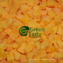 2015 neue Crop Gefrorener frischer gelber Pfirsich würfelt