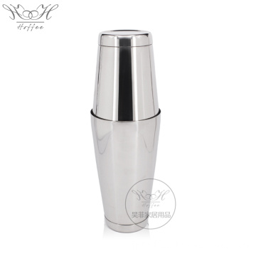 Ensemble shaker Boston en acier inoxydable 550 mm + 750 ml