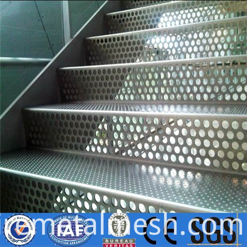 decoration material perforated metal mesh