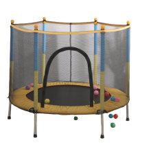 Multi-Color Home Equipment Indoor Gymnastic Trampoline for Kids