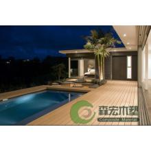 Pisos impermeables de WPC de la piscina del fabricante profesional