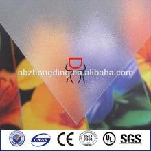 подгонянный Размер поликарбонатного пластика лист матовый