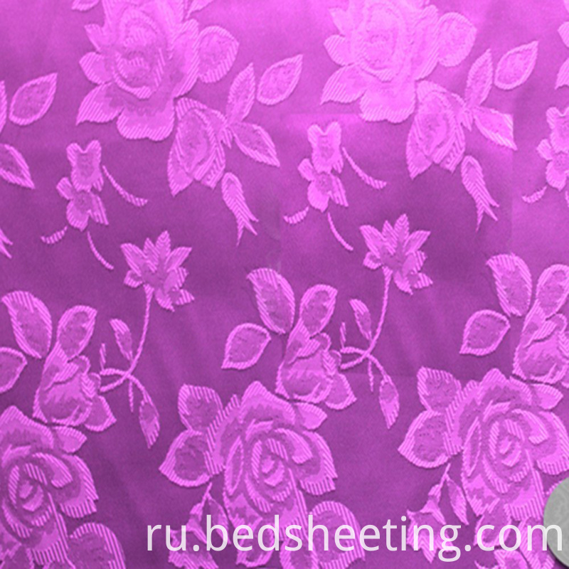 Solid Dyed Cotton Jacquard Fabric