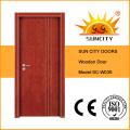 Продажи врезная Цвет Проектированная teak деревянная дверь (СК-W039)