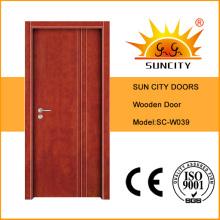 Gemalte innere zusammengesetzte hölzerne Tür