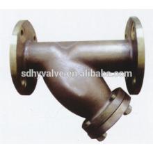 Bronce de tamaño Class150/PN16 DN50-DN600 Y-colador