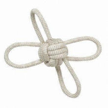 Pet natural rope toy, suitable for dog, eco-friendly